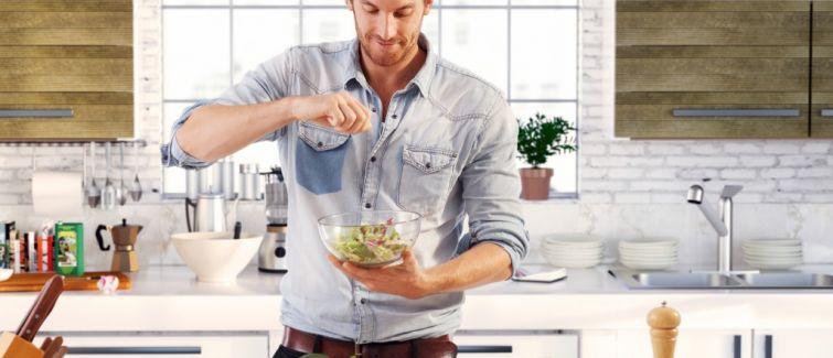 Aumenta o número de homens na cozinha